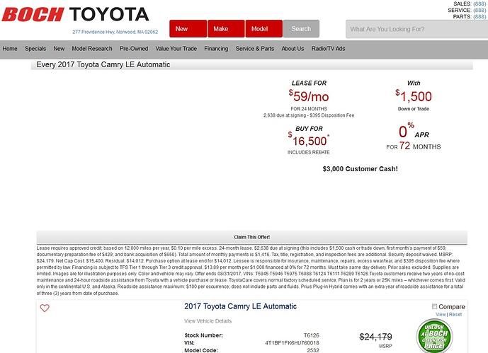 Boch Toyota Norwood Service