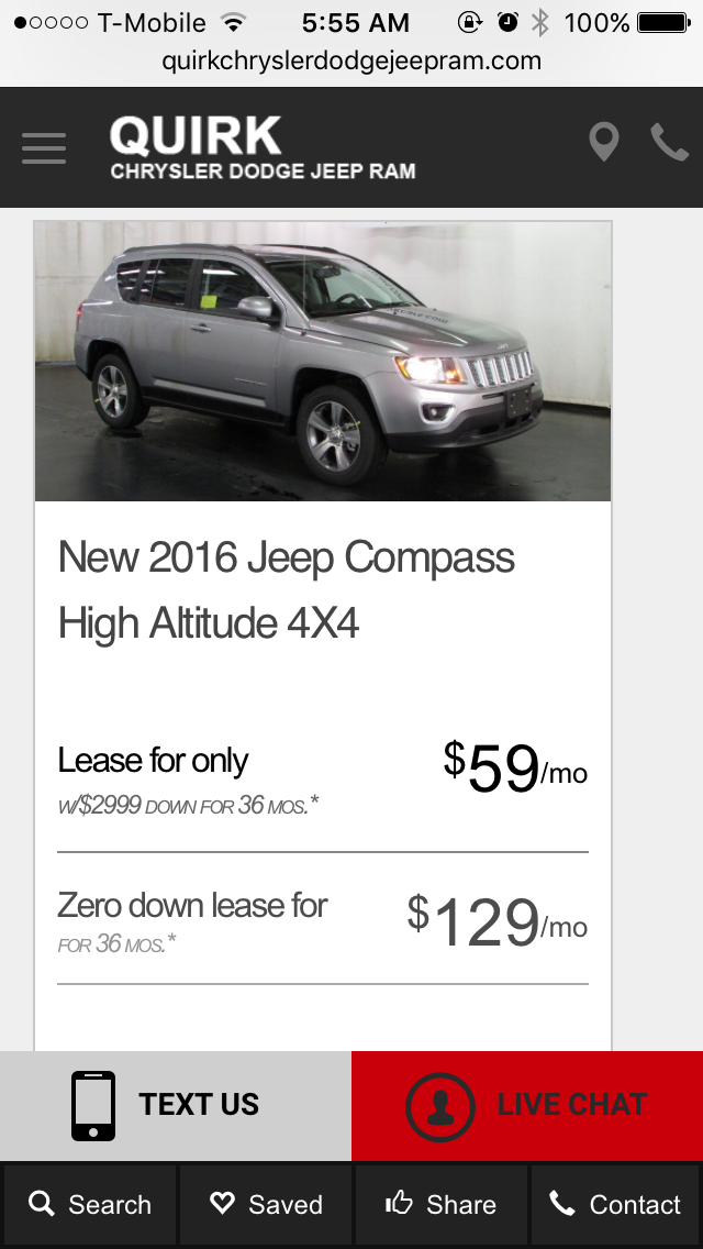 Any Upcoming Deals That May Rival The 100 Mo Cruze Lease From Last