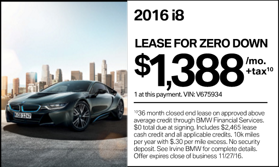2016 Bmw I8 0 Down Under 1388 Per Month Possibly Less California