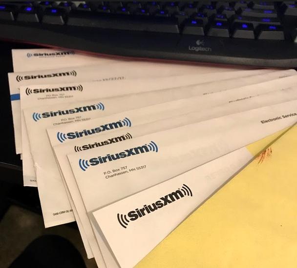 Sirius XM spams - Off-Ramp - Leasehackr Forum