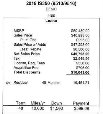 2018 Lexus IS350 Demo - Terrible Deal? - Ask the Hackrs