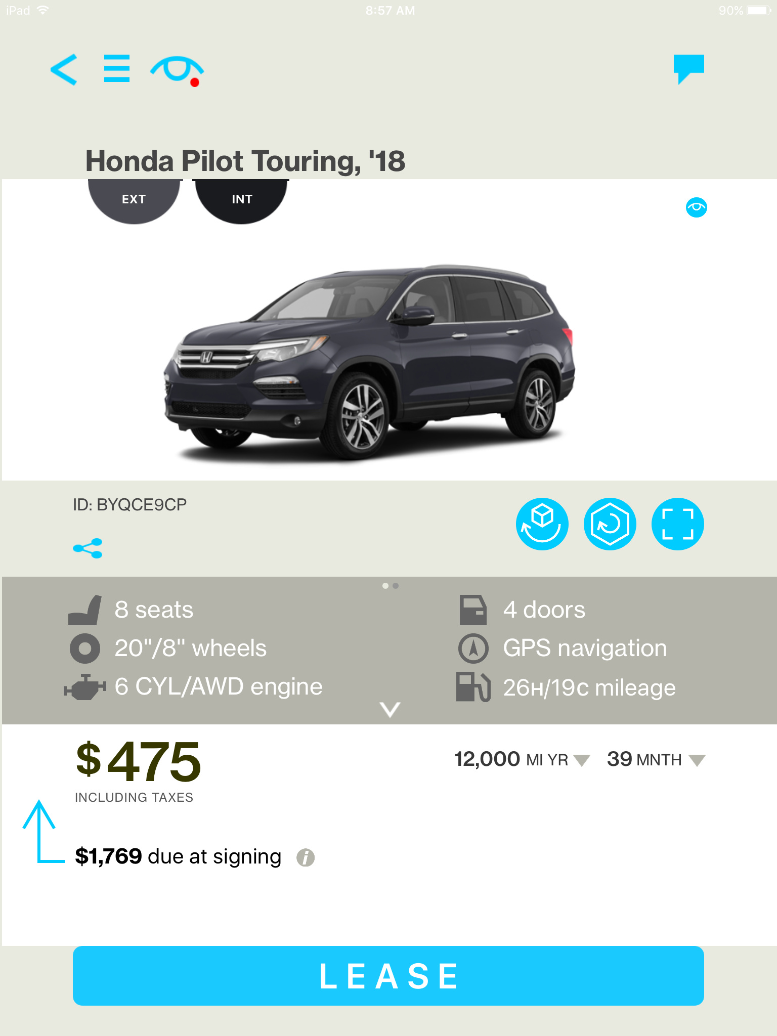 Honda Pilot Touring or QX60 - Ask the Hackrs - Leasehackr Forum