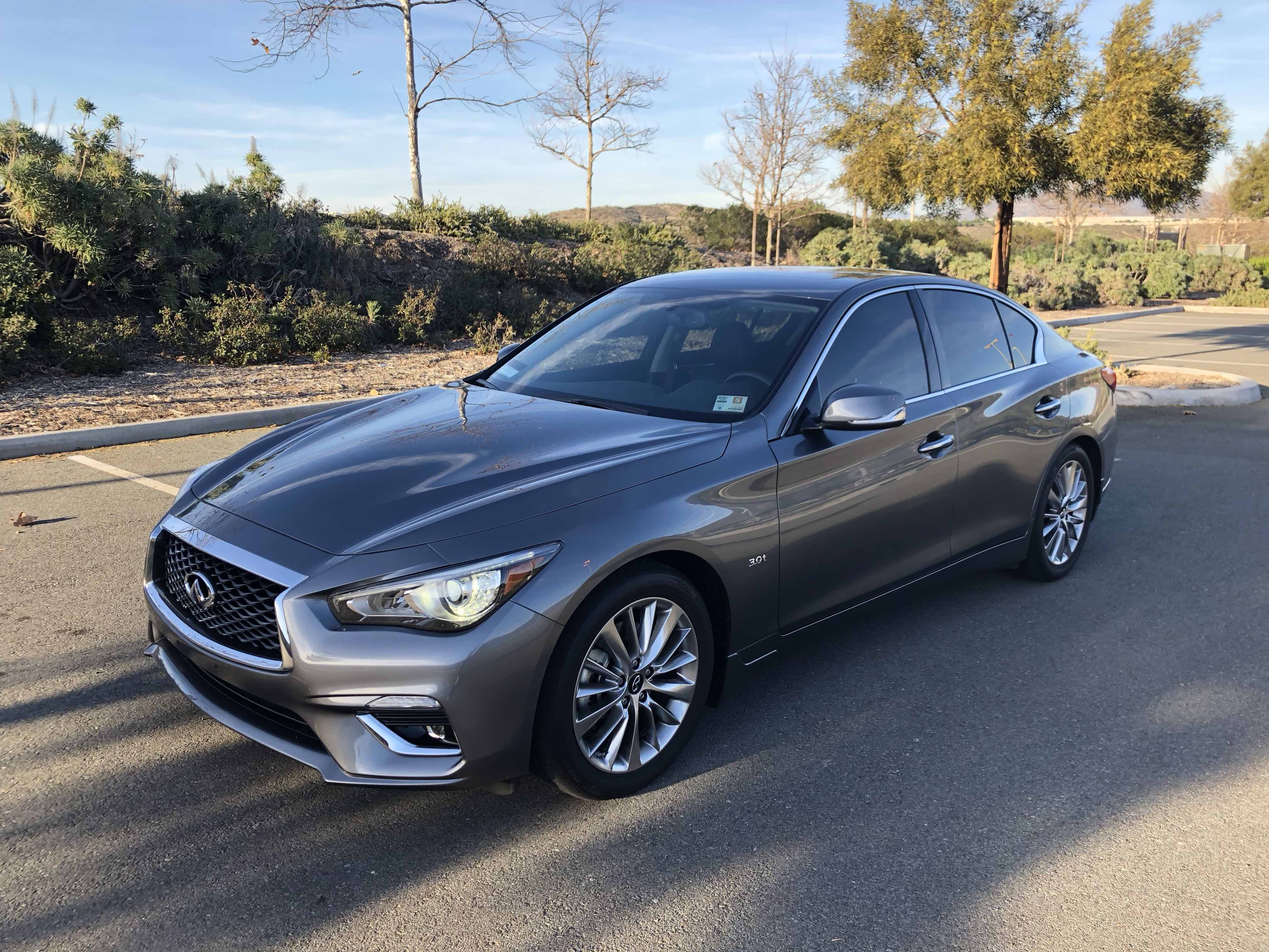 SOCAL For Sale 2018 Infiniti Q50 3 0t LUXE $29 400 Private Lease