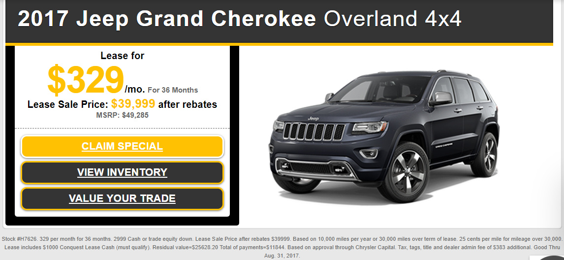 Jeep Grand Cherokee Forum >> Jeep Grand Cherokee Leases Ask The Hackrs Leasehackr Forum