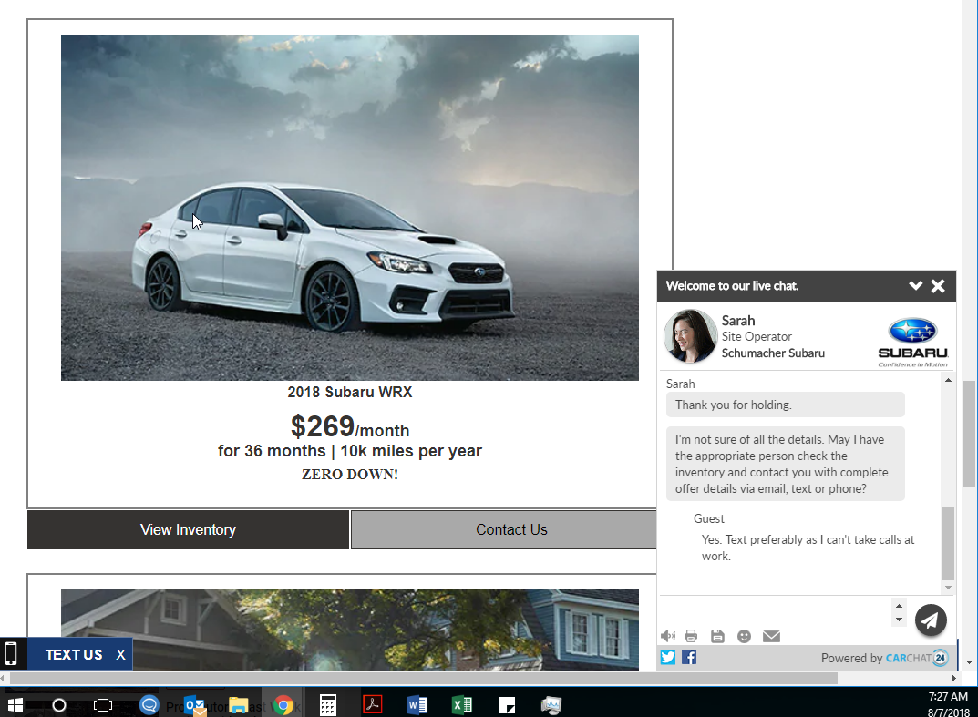 Good Or Bad Deal Subaru Wrx 269 A Month Ask The Hackrs
