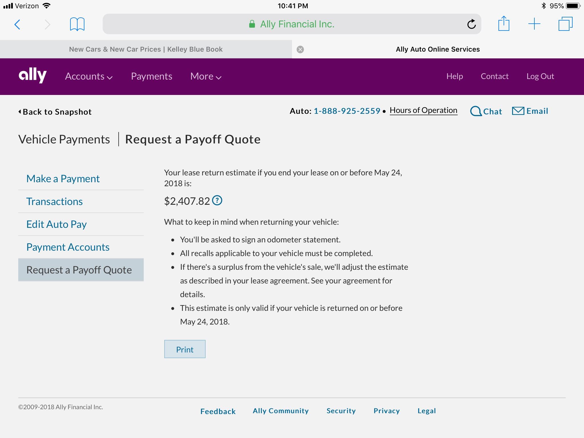 Ally Financial Payoff >> Ally Financial Pay Off Quote Experience Ask The Hackrs