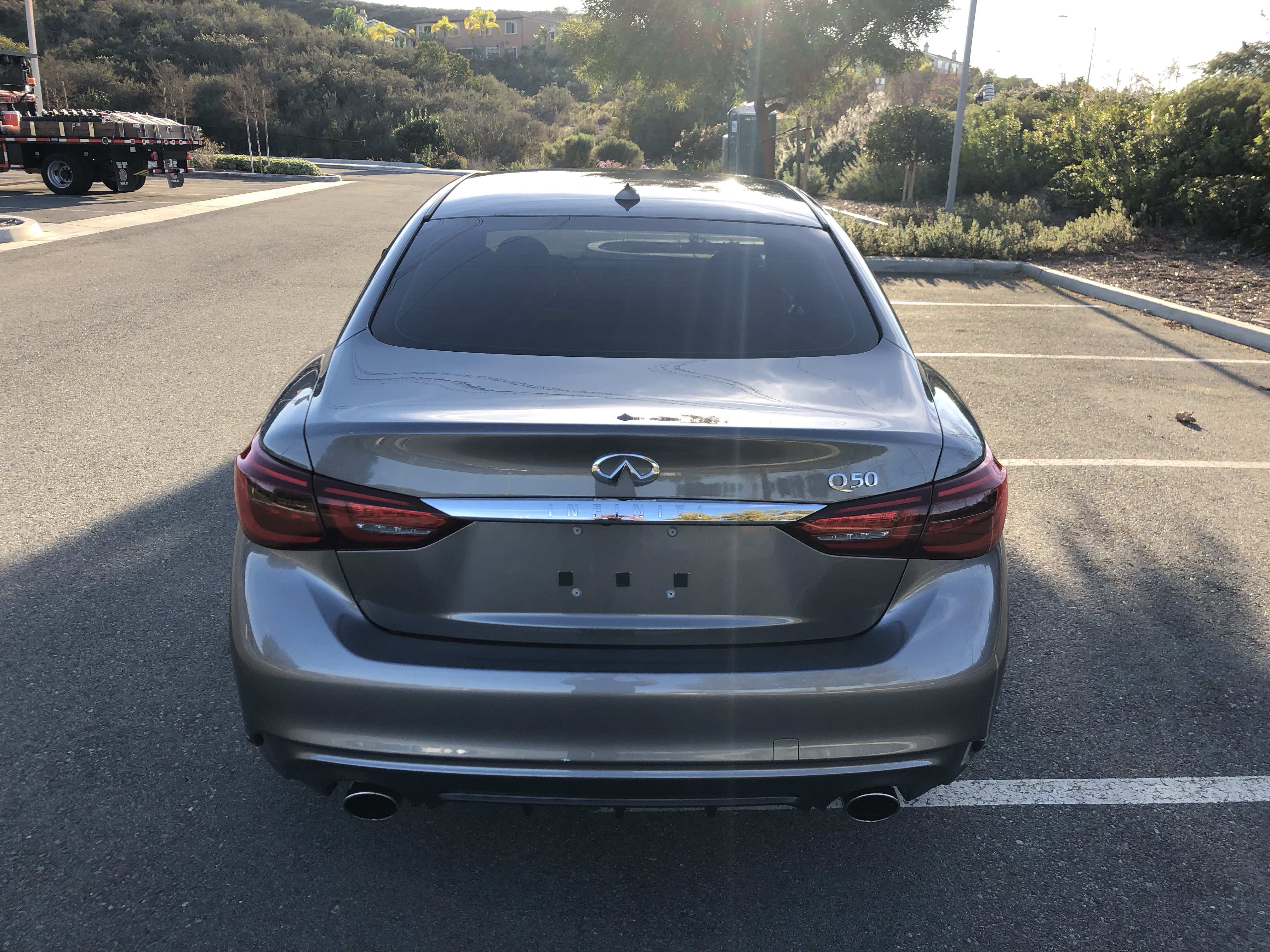 SOCAL For Sale 2018 Infiniti Q50 3 0t LUXE $33 000 Marketplace