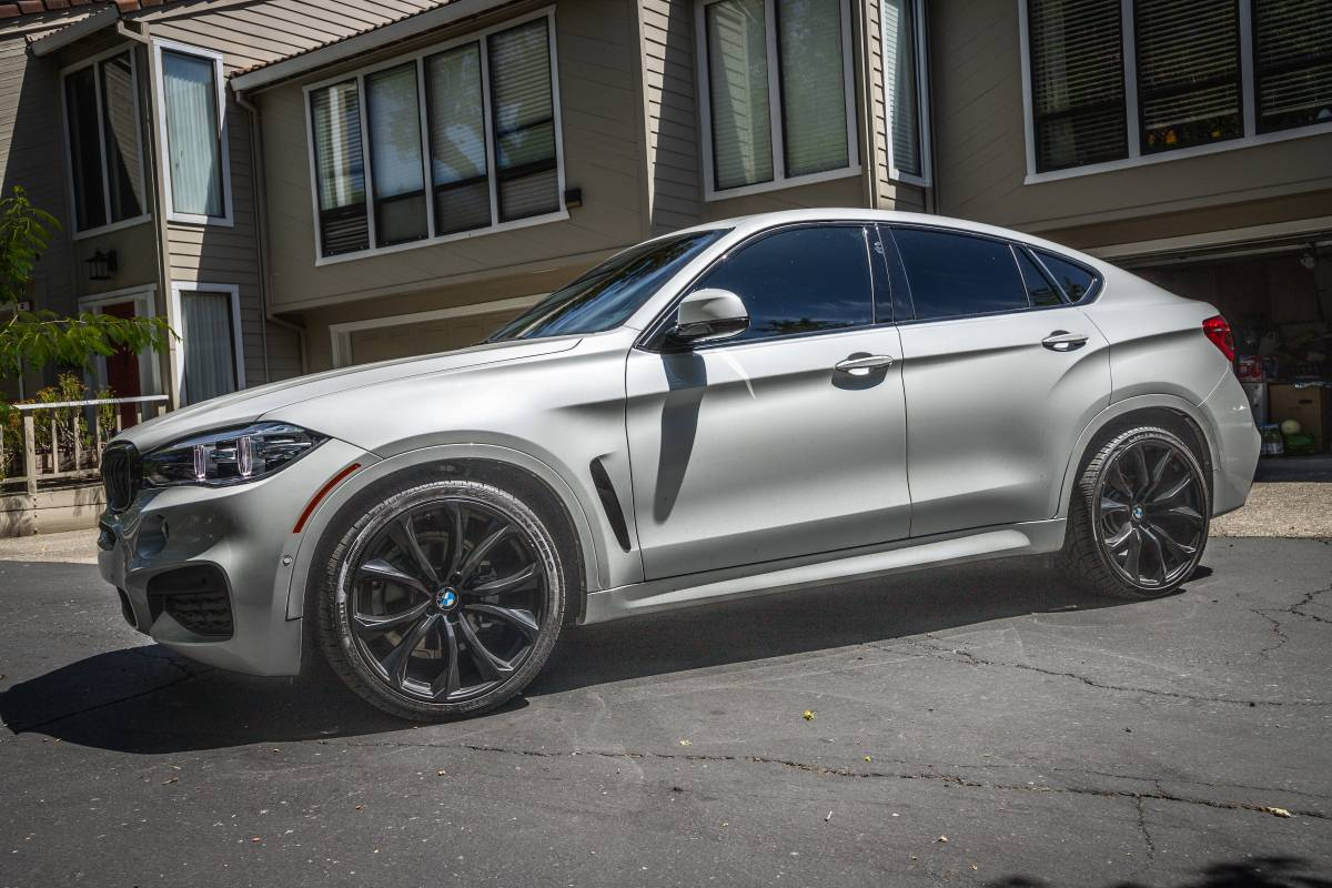 2018 Bmw X6 35 White With Black 20 Wheels Extra 22 Set