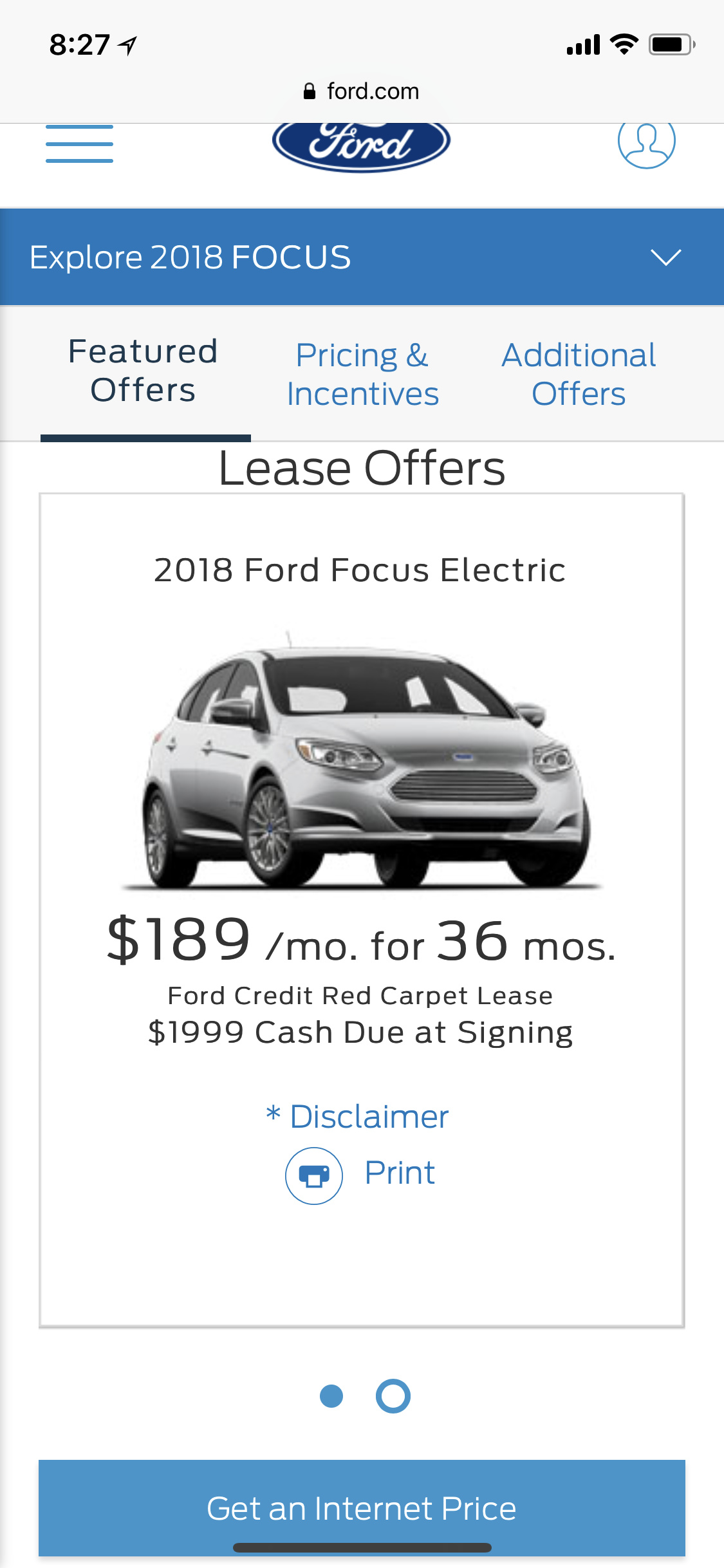 Ford Focus Electric Lease Is This Good Deal
