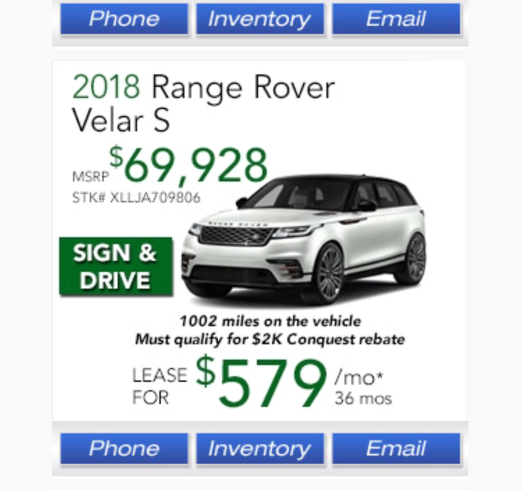 Range Rover Velar Lease Deals Forum
