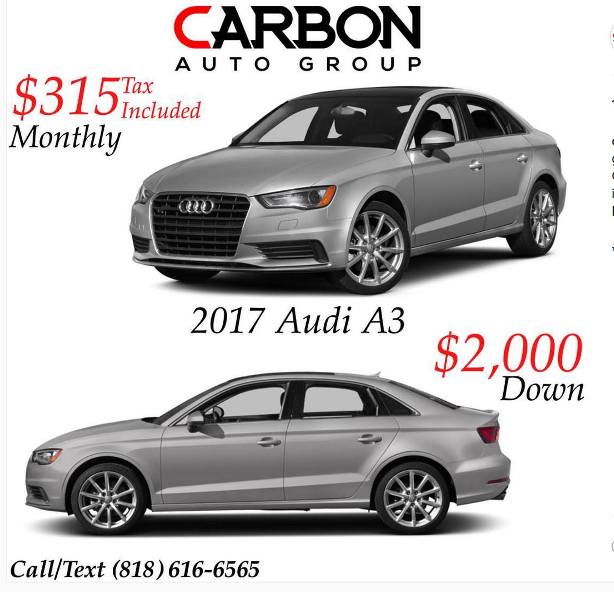 AUDI A Lease Offer From Today Is It Worth Pursuing Ask - Audi a3 lease