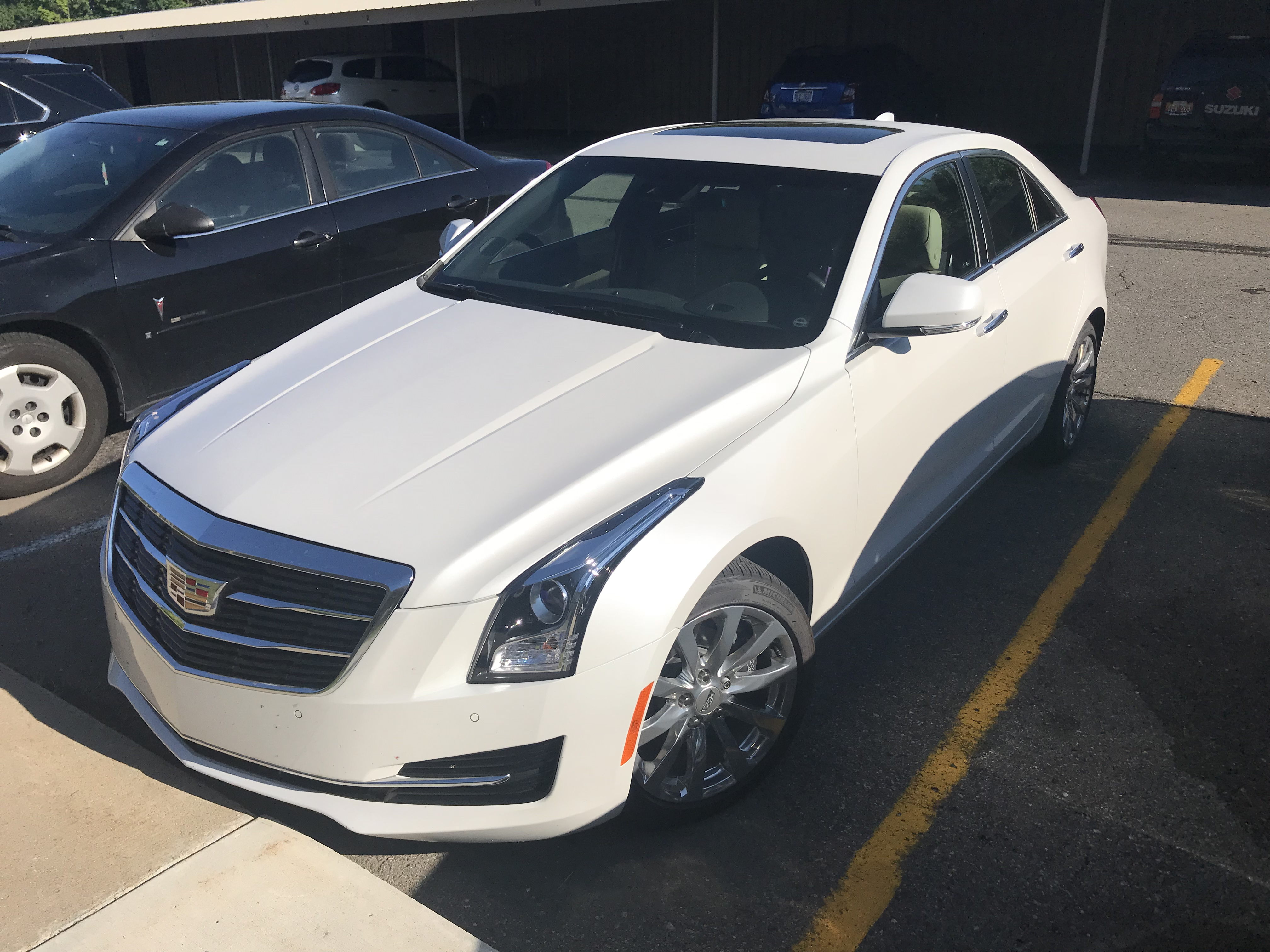 Lease Transfer Michigan 2018 Cadillac Ats Awd Luxury Sedan Loaded